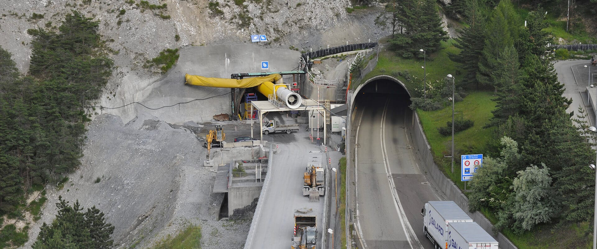 Fréjus tunnel (France)