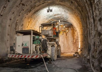 Conception pour le tunnel du Brenner