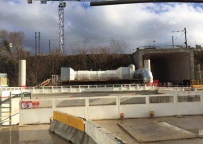 Grand Paris Line 15 construction site